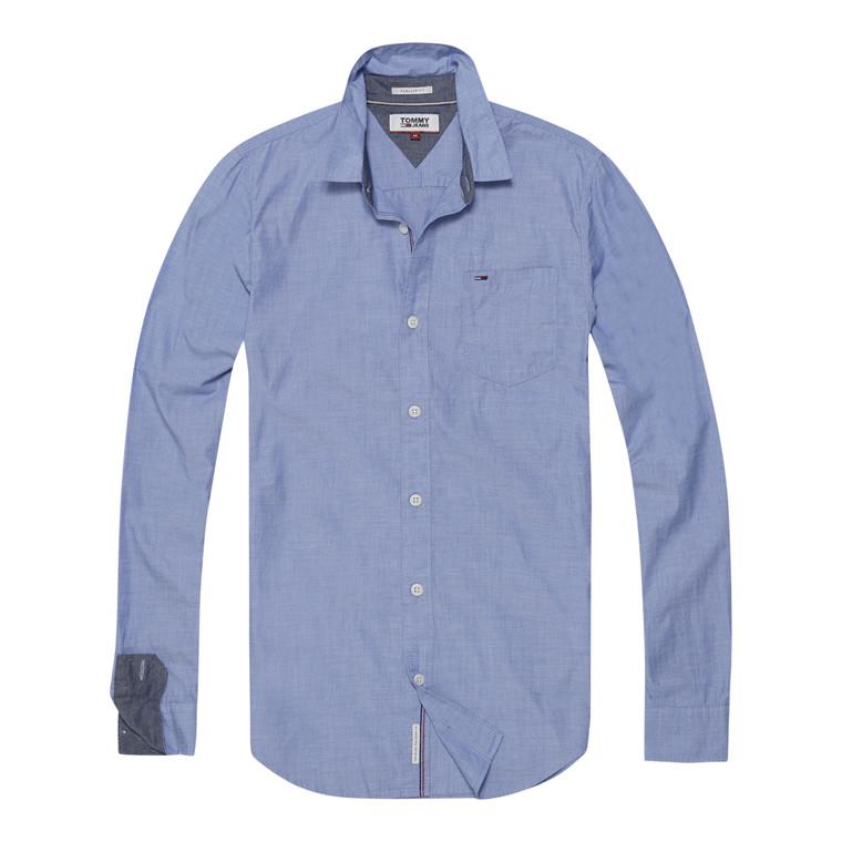 Tommy Jeans Basic Solid Skjorte