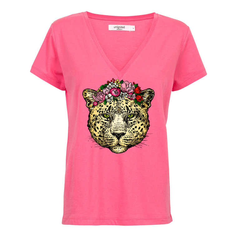 Unlimited Edition Jaguar Flower T-shirt