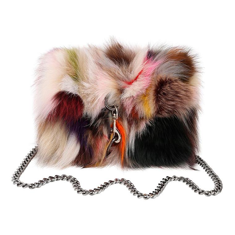 Cosy Concept Fur Mini Selma Fox Taske
