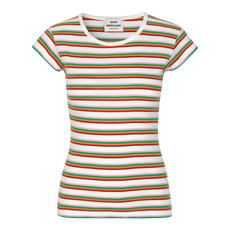 Mads Nørgaard 1x1 Stripe Stripe Trappy T-shirt