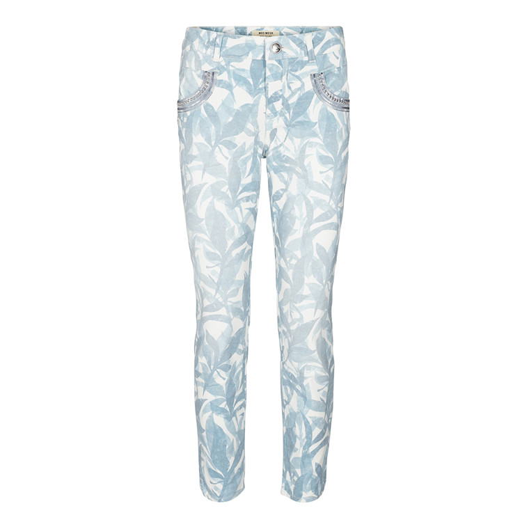 Mos Mosh Naomi Leaves 7/8 Printed Jeans