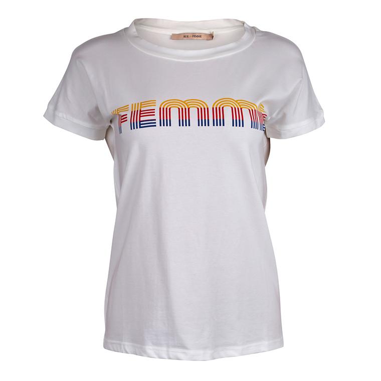 Rue De Femme Retro T-shirt