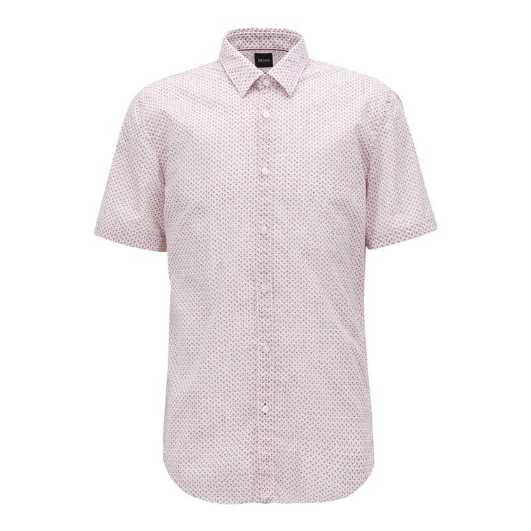 Hugo Boss Ronn Kortærmet Skjorte