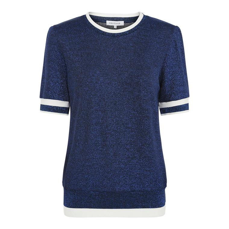 Continue Dorit Lurex T-shirt