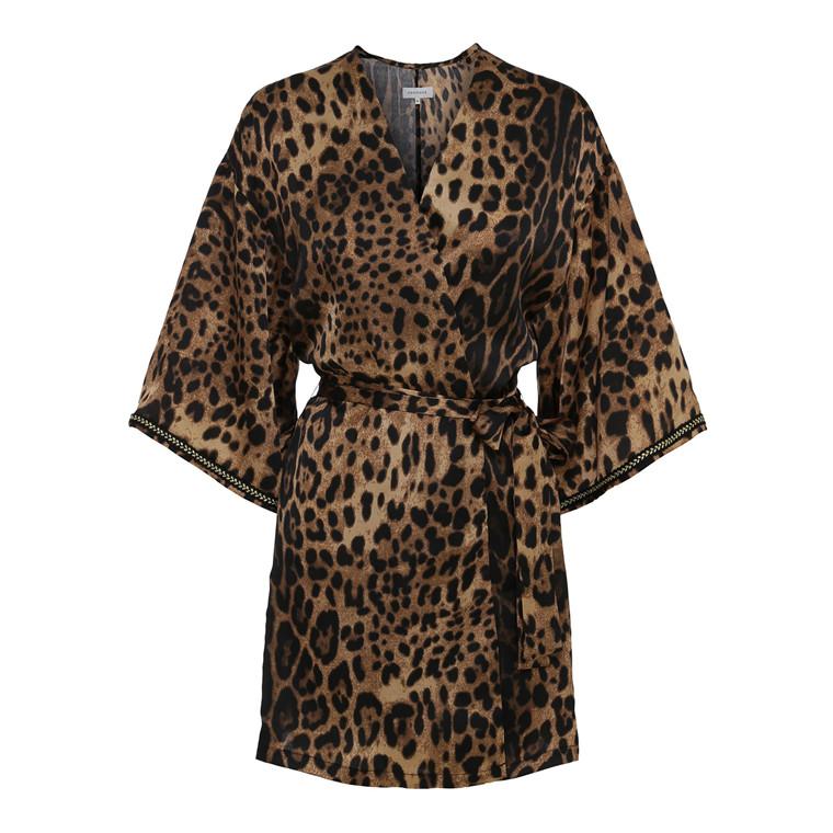 Continue Lai Leopard Kimono