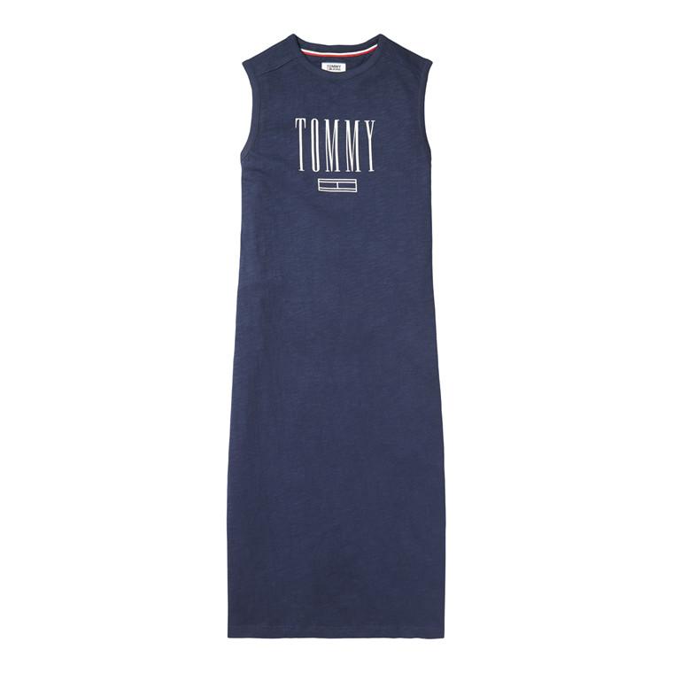 Tommy Jeans Logo Tank Kjole