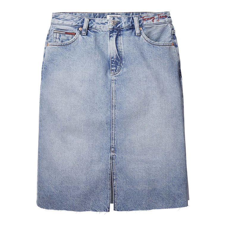 Tommy Jeans Denim Long Nederdel
