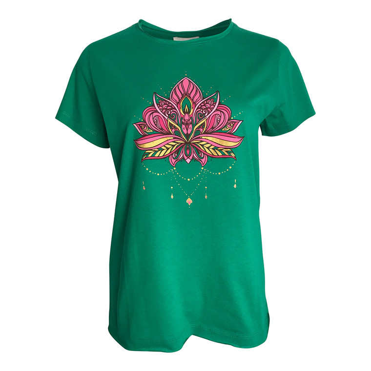 Neo Noir Lotus T-shirt