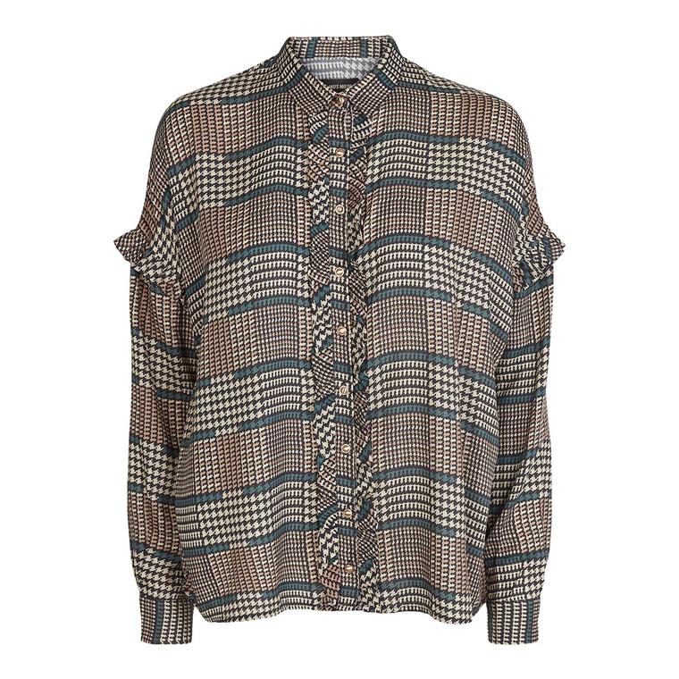 Mos Mosh Raffey Check Skjorte