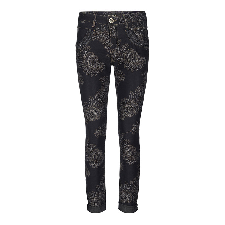 Mos Mosh Naomi Shine Printed Jeans