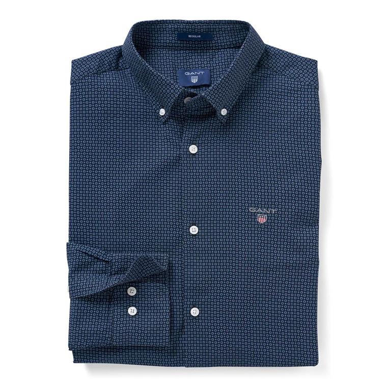 Gant Micro Circle Print Skjorte
