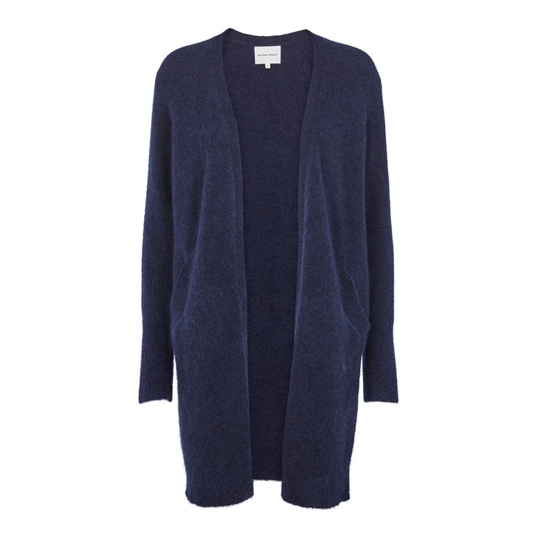 Second Female Brook Knit Pocket Cape Cardigan