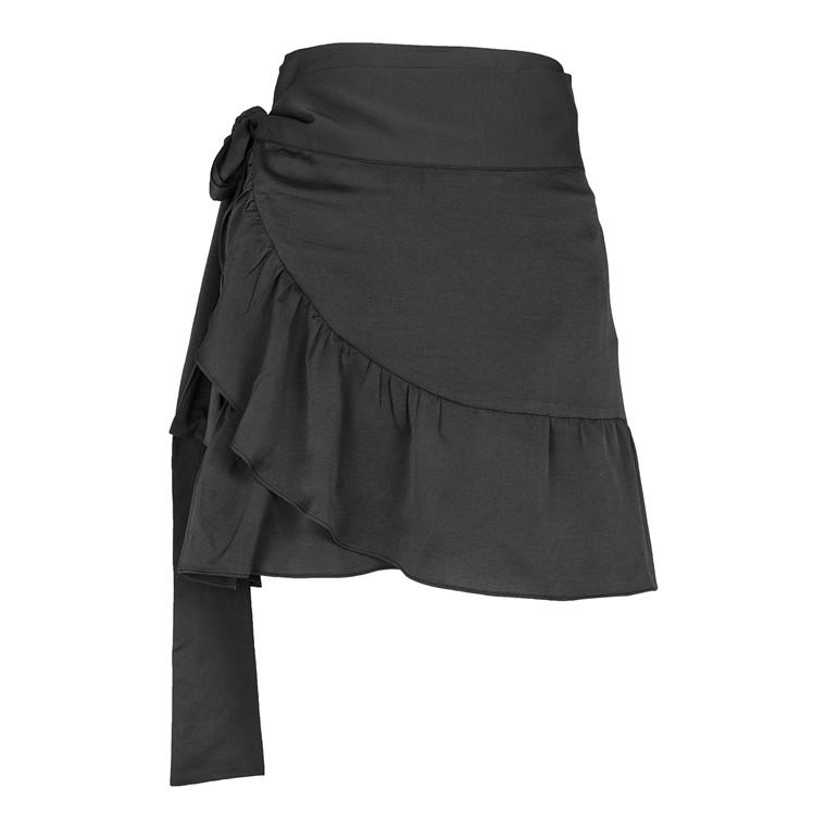 Neo Noir Chrissy Soild Wrap Nederdel