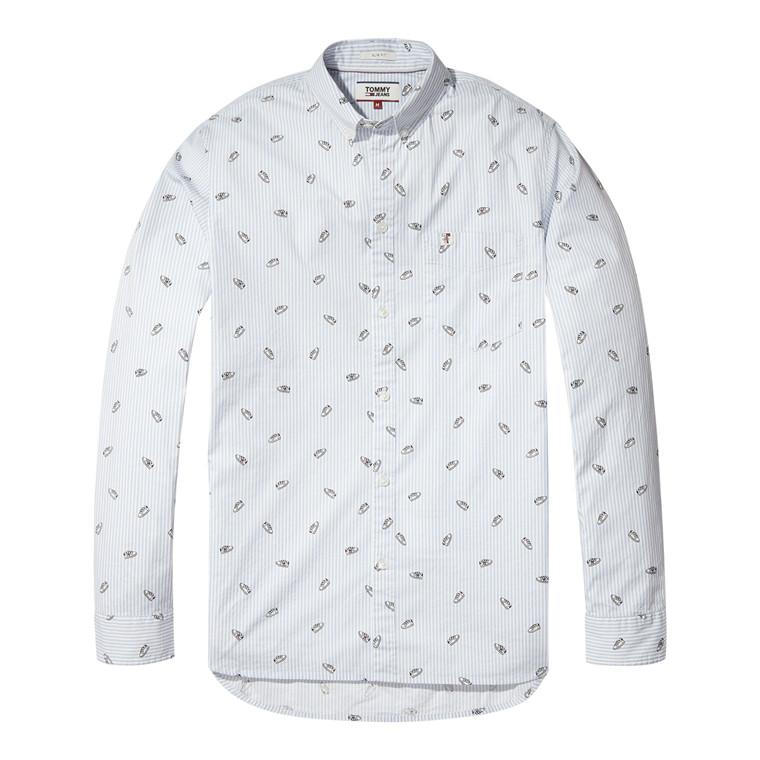 Tommy Jeans Ditsy Print Skjorte