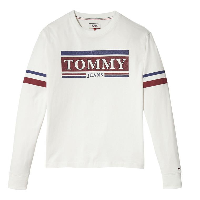 Tommy Jeans Stripe Detail Bluse