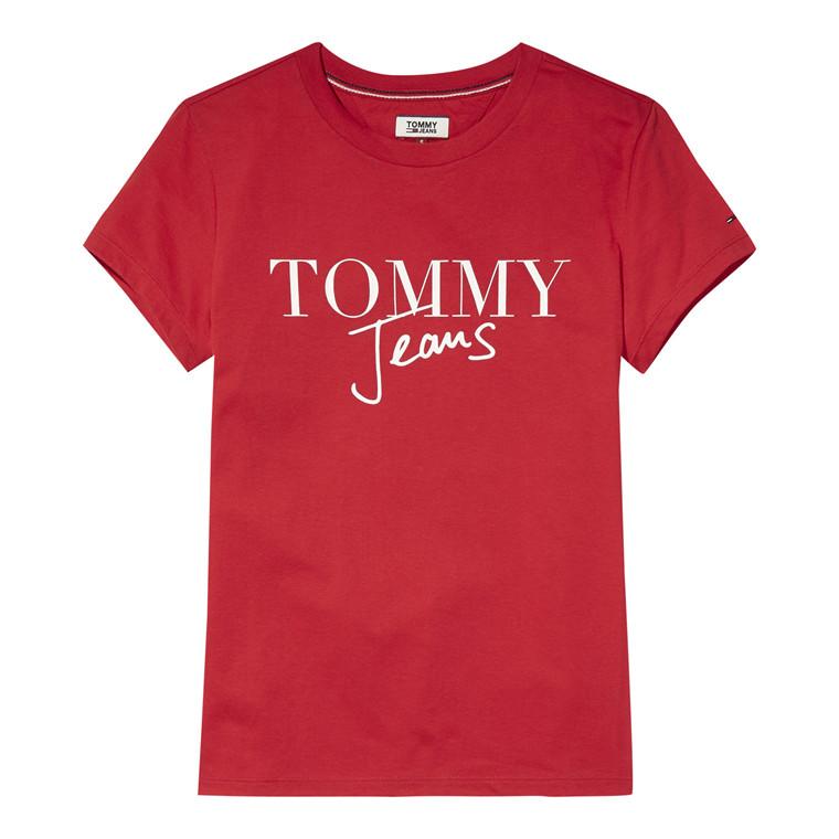 Tommy Jeans Script Logo T-shirt