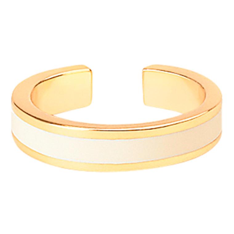 Bangle Up Blanc sable Ring