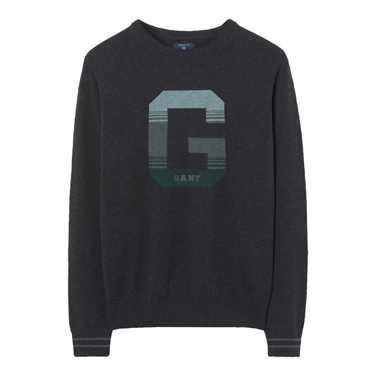 Gant G Logo Crew Sweater