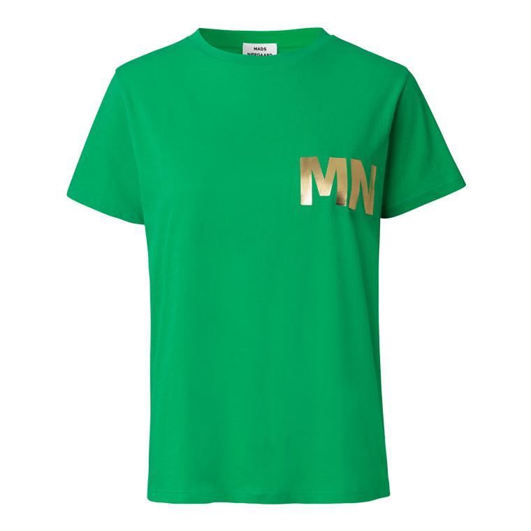 Mads Nørgaard Single Organic Trenda p B T-shirt