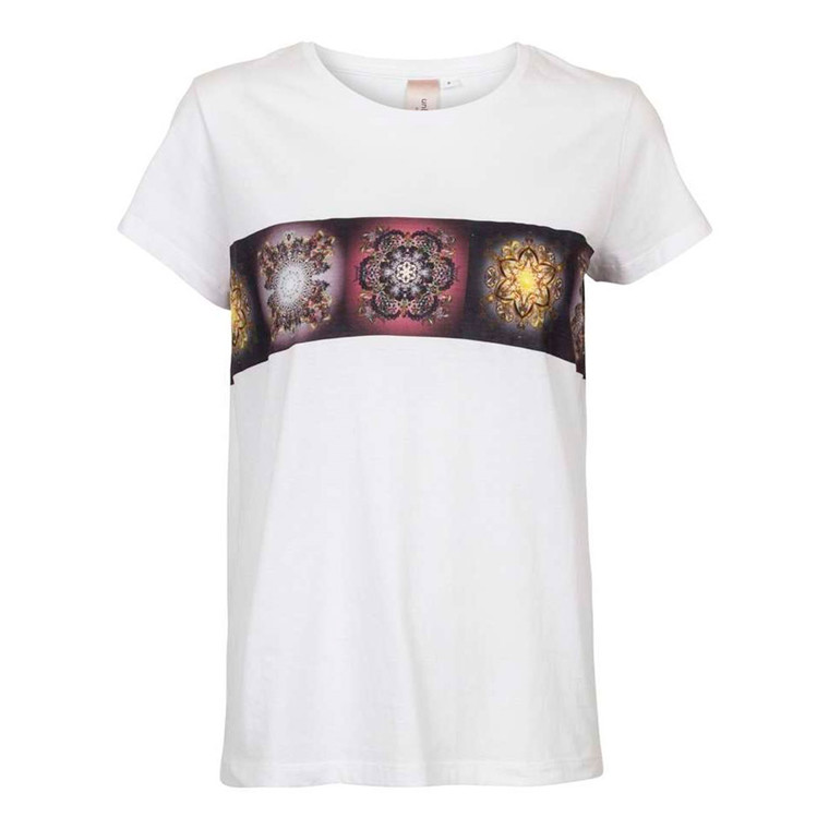 Unlimited Edition Soft Flowers Border T-shirt