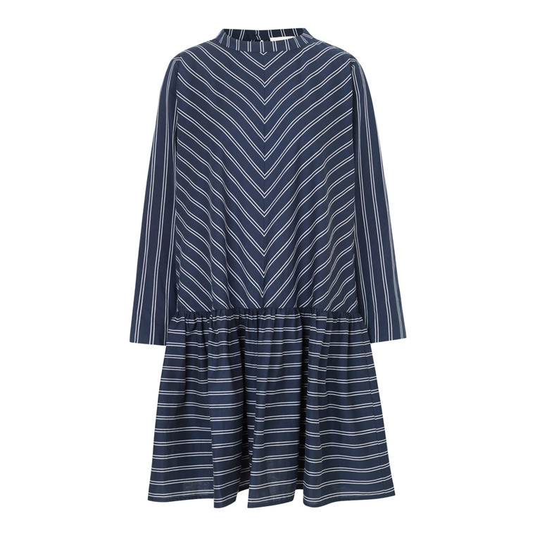 Mads Nørgaard Pop Weave Stripe Diccy Kjole