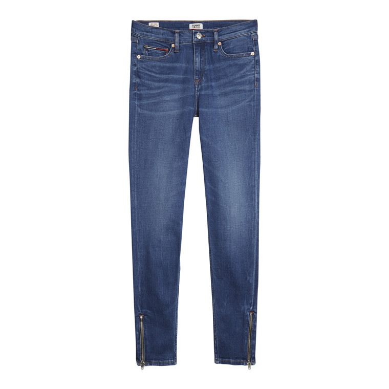Tommy Jeans Mid rise Skiny Nora 7/8 Zip Jeans