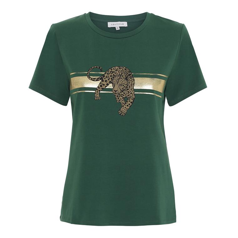Continue Wild Bottle Leopard T-shirt