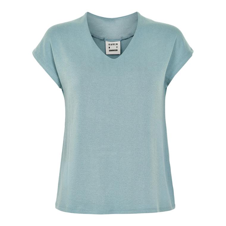 Karen By Simonsen Dandy V-neck T-shirt