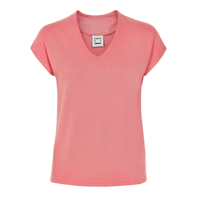 Karen By Simonsen Dandy V-neck T-shirt