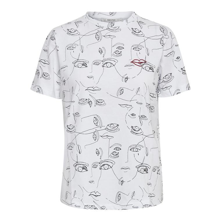 Gestuz Face T-shirt