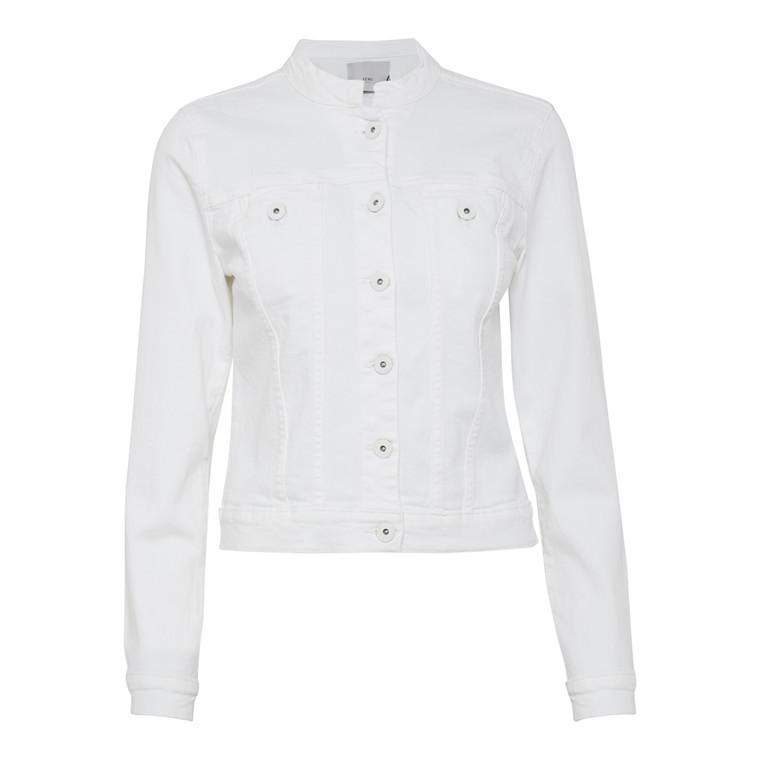 ICHI Ivana Jeans White Jakke