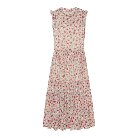 Tommy Jeans Floral Print Max Kjole