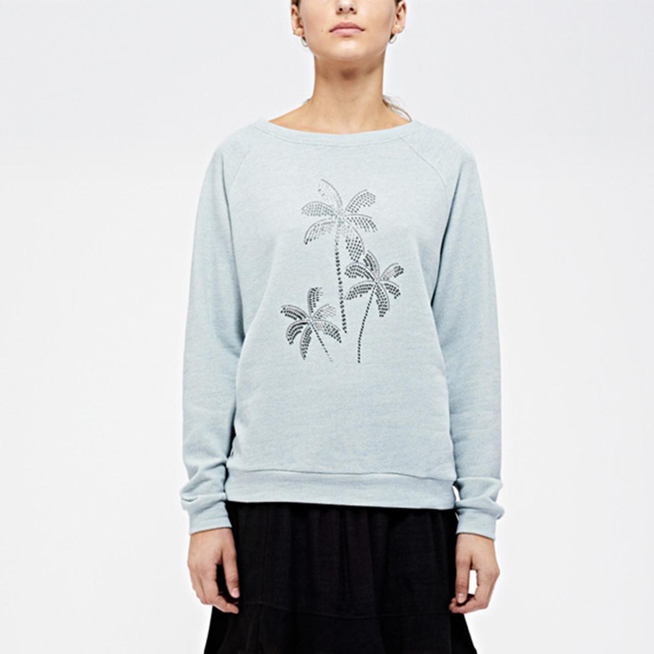 Jennie Sweat i blå fra custommade - Køb custommade online her!