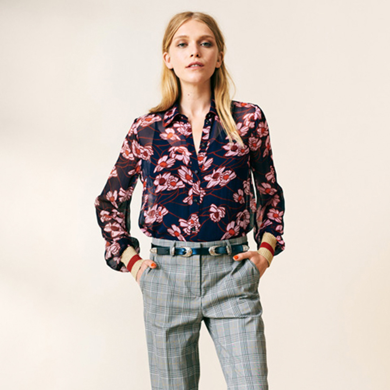 Madrona Skjorte i blå fra Baum und Pferdgarten - Køb din skjorte her!