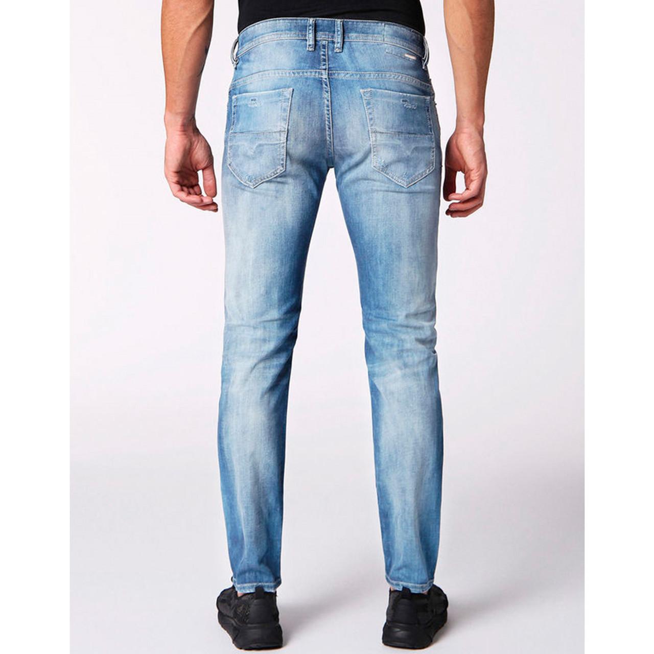 Thommer Jeans i blå fra Diesel - Stort udvalg af Diesel jeans til mænd
