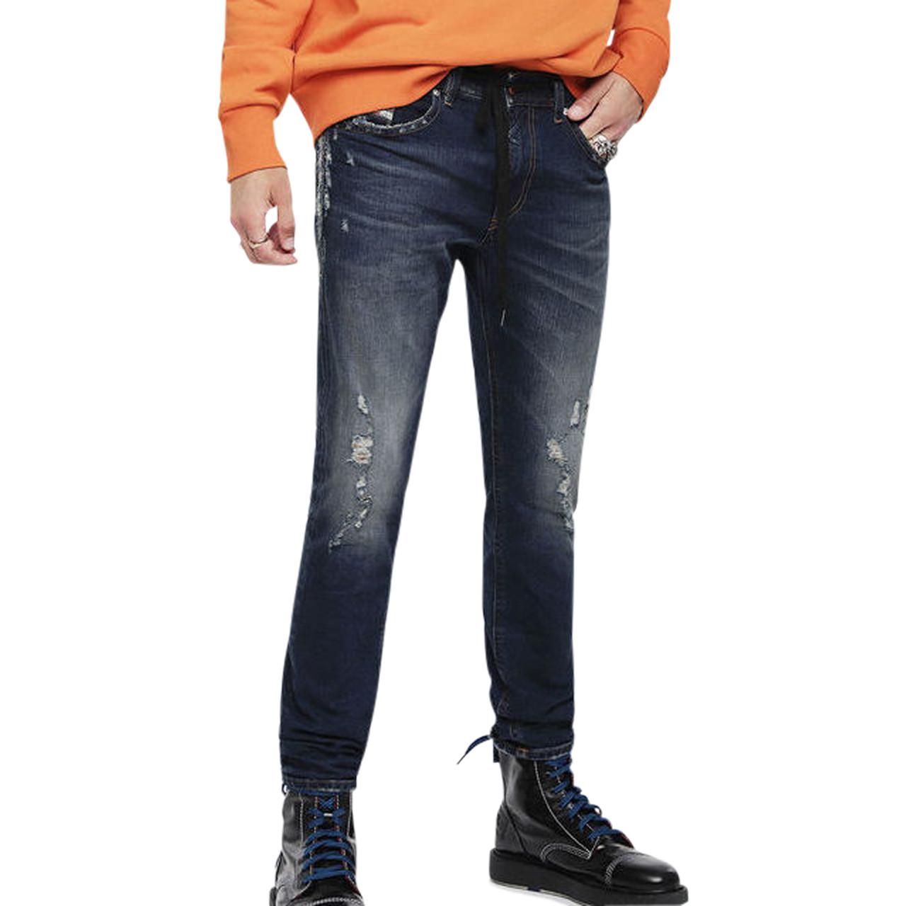 Thommer Jeans i blå fra Diesel   084YY   Køb Diesel Jeans online her!