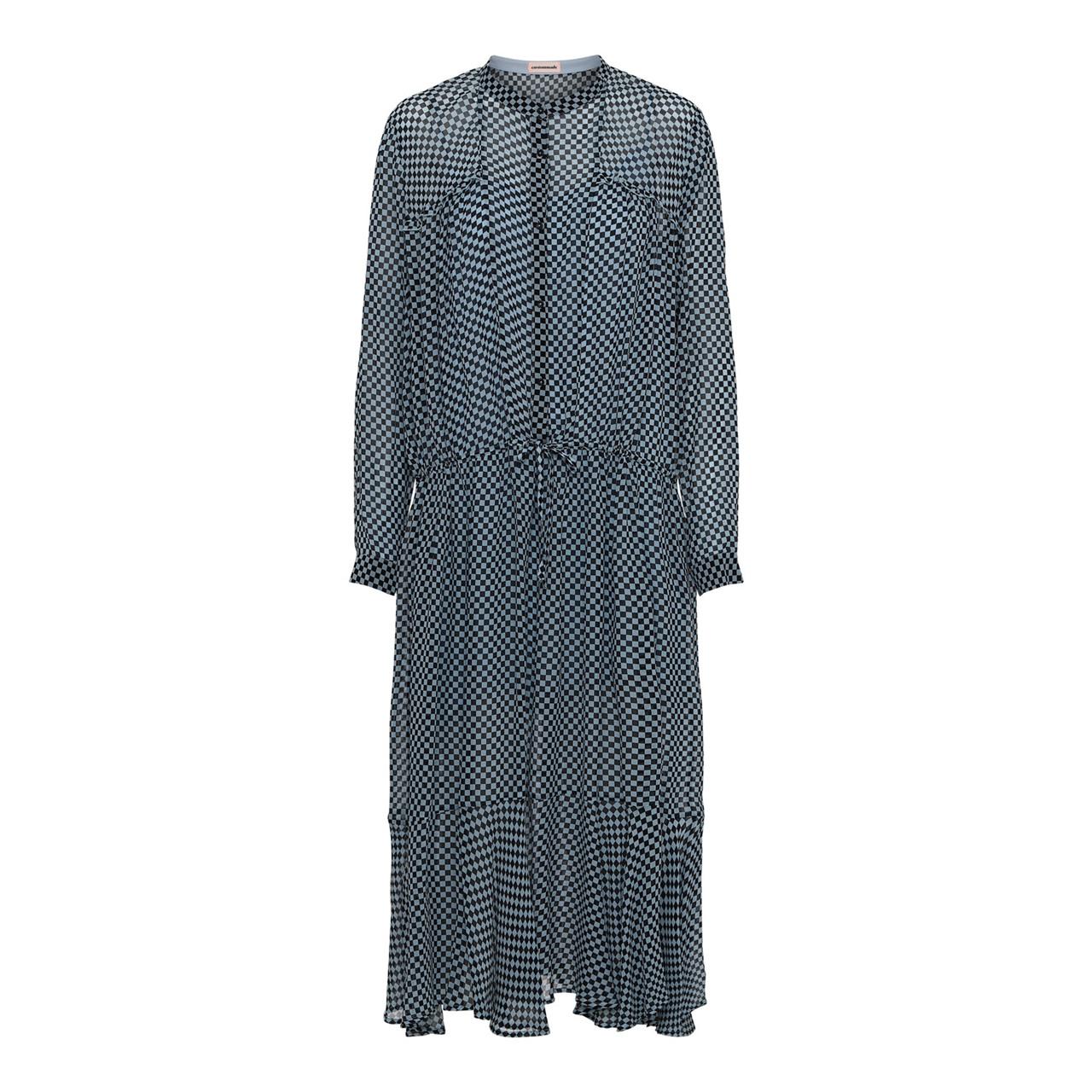 Cilje Kjole i blå tern fra Custommade | 191343402 | Køb din kjole online her!