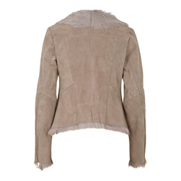 64736d98 Natures Collection Jakke - NC680 ALEXIA JACKET GOATFUR - Køb online!