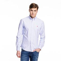 29f027471e3 Oxford Button Down skjorte i lyseblå fra MORRIS - 2 farver online!