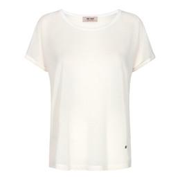 Mos Mosh Kay T Shirt Ecru| Hurtig levering Shop online