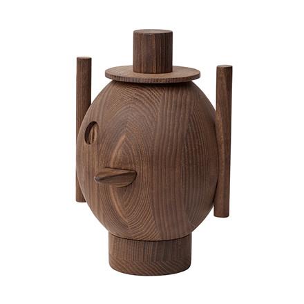 Fritz Hansen Geo Sculpture No.  1 Mørk Ask