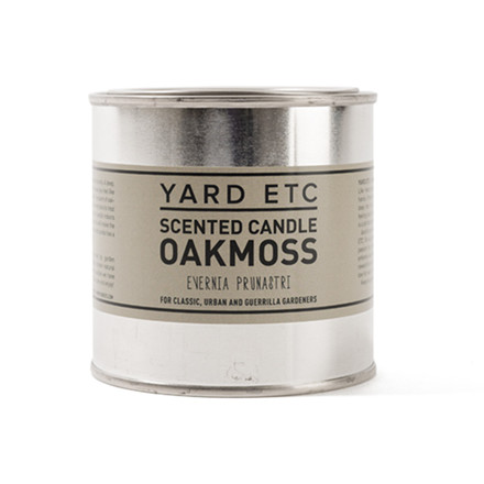 Yard Etc Scented Candle Oak Moss