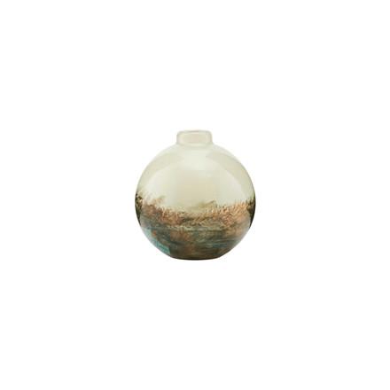 House Doctor Vase Earth Beige/Metallic