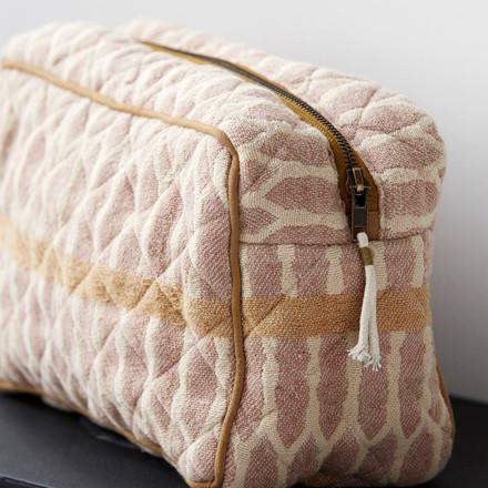 Meraki Toilet Bag Mustard/Terracotta/Sand