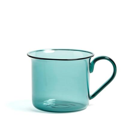 HAY Borosilicate Cup Aqua