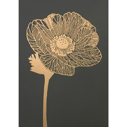 Monika Petersen Anemone Gold/Granite