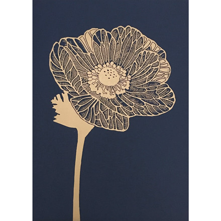 Monika Petersen Anemone Gold/Indigo
