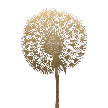 Monika Petersen Dandelion Gold/White