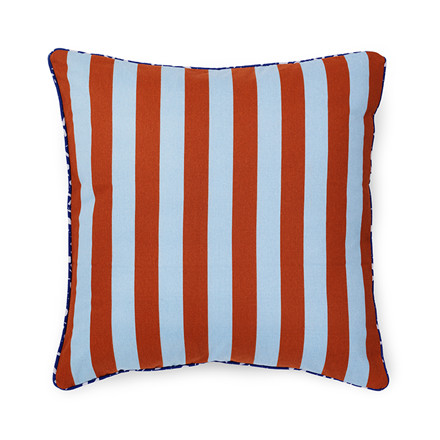 Normann Cph Posh Cushion Keep It Simple Powder Blue/Caramel