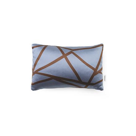 Normann Cph Flair Cushion Blue Violet Mikado